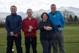 Pro - Richard Davies, Club Captain - Pat Jones, Lady Captain - Steph Jenkins, Mens Vice Captain - Phil James