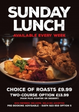 Sunday Lunch from £9.99